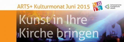 Der Banner zum ARTS Kirchenklutur-Monat 2015