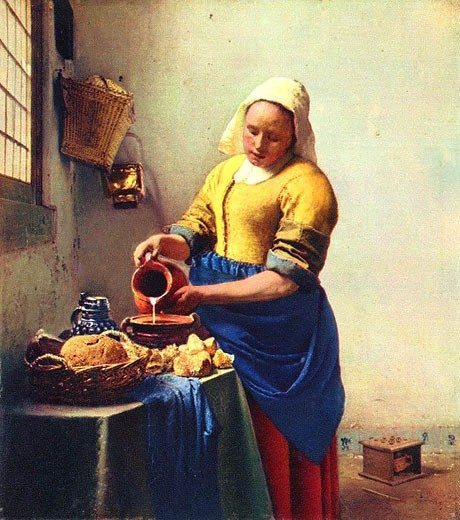 TUNE IN 143: Was kommt nach der Postmoderne? Jan Vermeer, The Milkmaid 1658–1660
