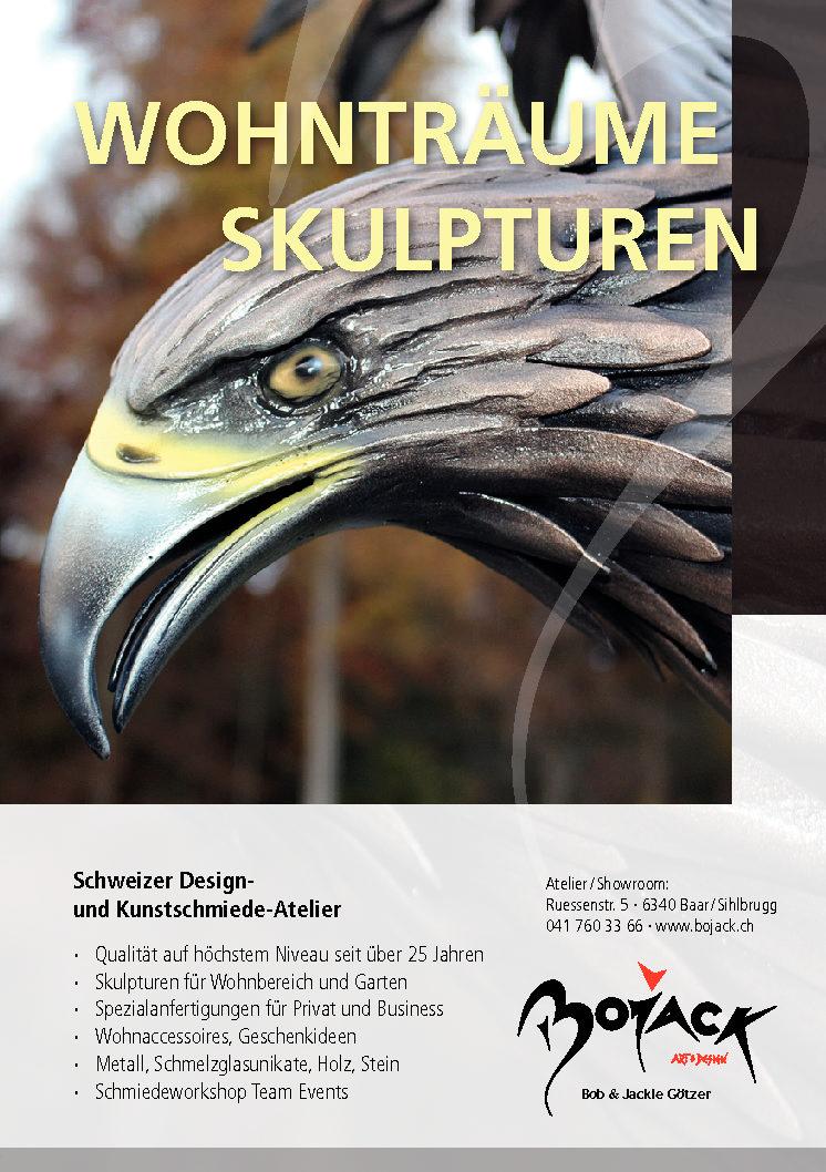 Flyer BOJACK-WohnträumeSkulpturen